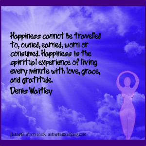 living every minute with love grace and gratitude denis waitley