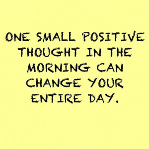 Start your day off with a positive thought! #health #wellness # ...