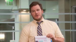 "Chris Pratt in ""Parks and Recreation"""