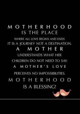 interesting motherhood quotes