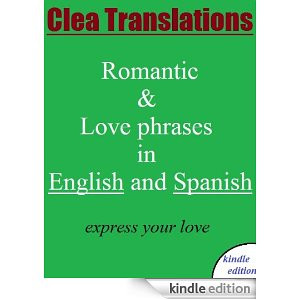 English To Spanish romantic and love phrases