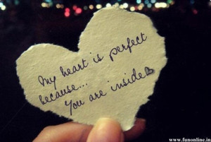 Heart is Perfect because of Love