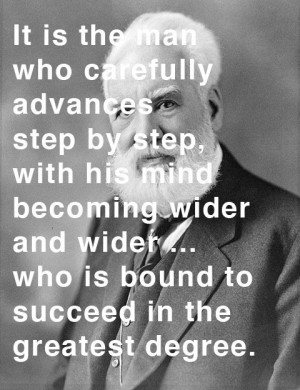 Alexander Graham Bell via brainpickings #Quotation #Alexander_Graham ...