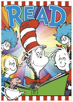 Dr. Seuss 3D Read Bulletin Board Set