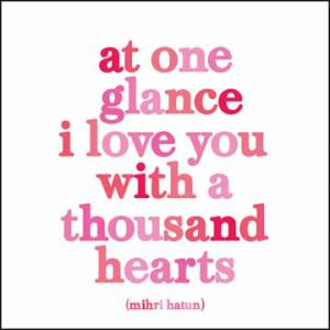 At One Glance - M. Hatun Quotable Cards