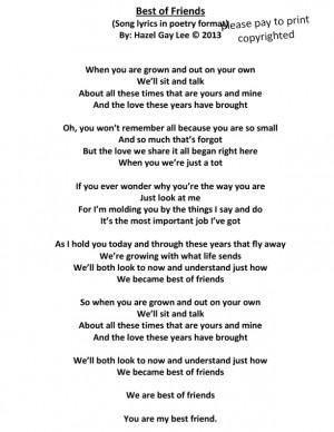 Friendship Song Lyrics Quotes Quotesgram Math Wallpaper Golden Find Free HD for Desktop [pastnedes.tk]