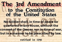 3rd Amendment - Quartering Soldiers / Third Amendment - No Soldier ...