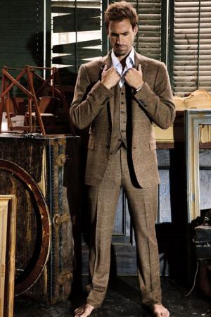 Joseph Fiennes raided Giles' closet