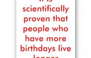 Funny happy birthday quotes