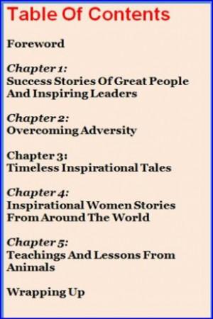 View bigger Big Book Of Inspiring Stories for Android screenshot