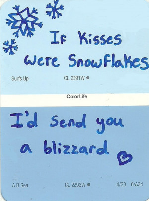 ... Blizzard sample samples paintsample winter quote christmas quote