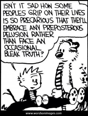 Calvin and hobbes quotes on life
