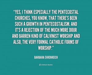Pentecostal Quotes