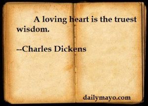Quote: Charles Dickens on Love