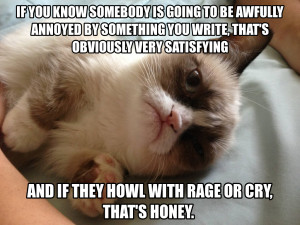 Grumpy Cat Quotes