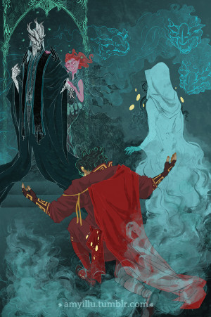 Orpheus and Eurydice: Underworld-Digital Third image of my Orpheus ...
