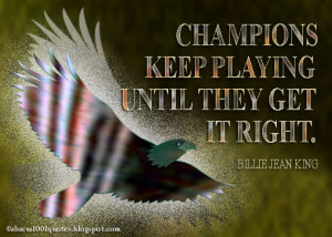 Inspirational Graphic Quotes about Champion