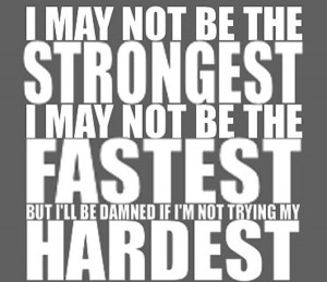 This was me in track and field. Self-Determined.