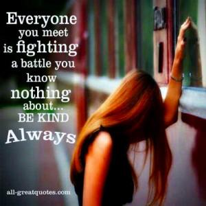 Inspirational Quotes - Compassion (image: indulgy.com)