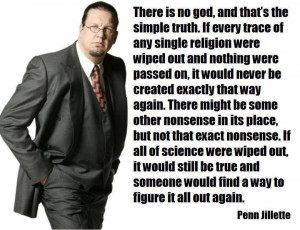 Famous magician, decent bloke, funny writer and not very angry atheist ...