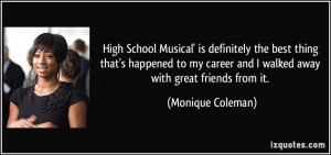 High School Musical Quotes