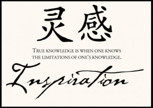 Chinese Proverb ~ Inspiration ~