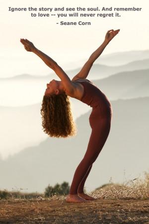 at GaiamTV.com Love Quotes Yoga, Inspiration Work, Sean Corn, Corn ...