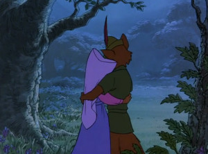 Robin Hood is kind of a super romantic movie.