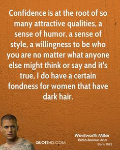 Wentworth Miller Quotes More