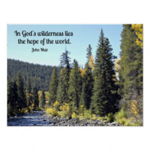 Colorado Rocky Mountain National Park, with quote Print