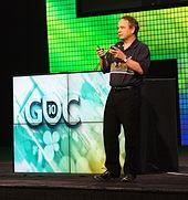 Sid Meier at the GDC 2010
