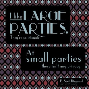 Great Gatsby Quotes About Parties