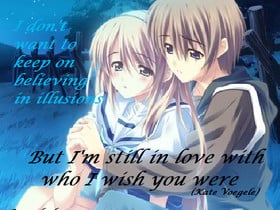 anime sad love quotes photo: Wish You Were wishyouwere.png