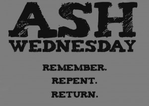 ash wednesday homily b