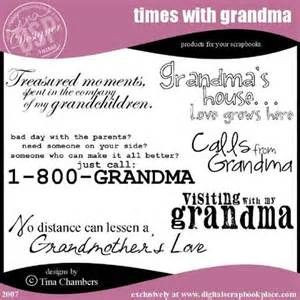 grandma quotes for scrapbooking
