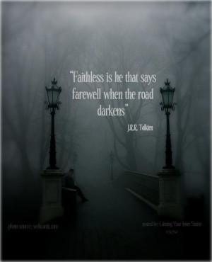 Tolkien quote for HOBBIT WEEK