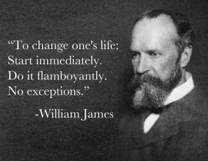 William James Life Quotes