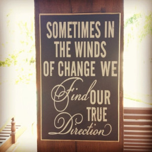 change can be great, love this!