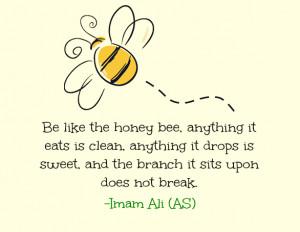 ... ibn abi talib imam ali quotes imam ali sayings quote quotes bee honey