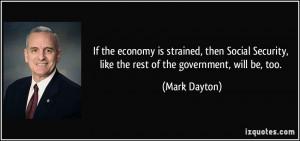 Mark Dayton Quote