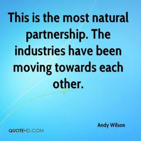 This Is The Most Natural Partnership Industries Have Been Moving