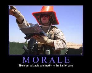 Morale - Military humor