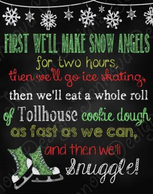 Elf Movie Quotes 11x14 elf movie quote