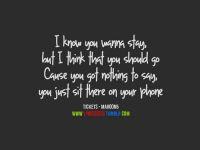 Maroon 5 Sugar Quotes