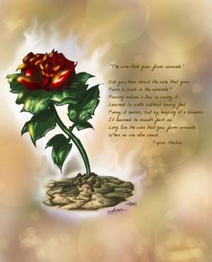 The Rose that Grew from Concrete- Tupac Amaru Shakur