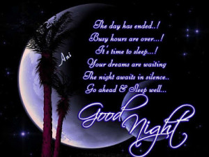 Good Night Inspirational Quotes – Sweet Dreams Wishes