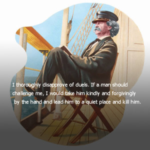 Mark Twain Quotes | The Thinking Of Mark Twain In Each Particular ...