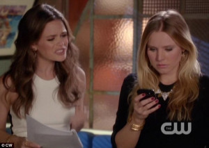 ... Kristen Bell discover the identity of Gossip Girl in an OC reunion