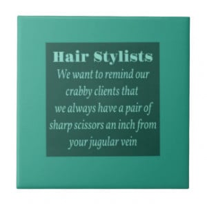 Funny Hair Stylist Notebook...