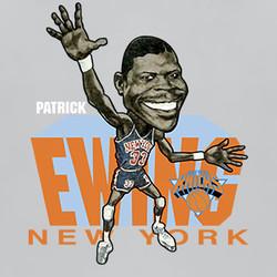 Patrick Ewing Retro Basketball Caricature T Shirt 18 Buy Fab Five